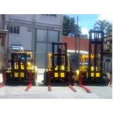 locações de empilhadeiras em Amparo
